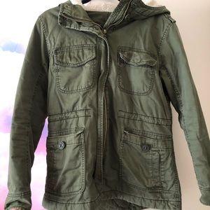 American Eagle Olive Green Winter Jacket